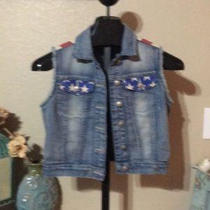 Lei Blue Jean Jacket Size M